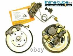 1964-65 A Body Manual Disc Brake Dual Master Cylinder Conversion Wheel Kit Set