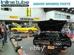 1969-72 GTO 442 GS HARDTOP Manual Disc Brake Conversion Line Kit 6pc Set OE