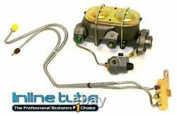 68-69 A-body Front Manual Disc Brake Conversion Wheel Kit Caliper Rotor Factory