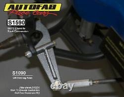 Autofab Racecars Manual Rack and Pinion Conversion Kit For 64-72 GM A body