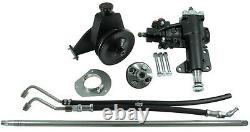 Borgeson 999026 P/S Conversion Kit, Fits 1965-1966 Mustang with Manual Steering