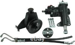 Borgeson 999027 P/S Conversion Kit for 1968-1970 Mustang with Manual Steering