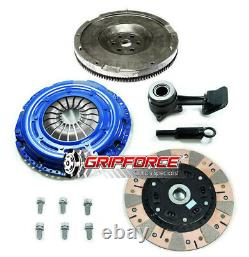 FX DUAL FRICTION CLUTCH FLYWHEEL CONVERSION KIT+SLAVE CYL fits 03-11 FORD FOCUS