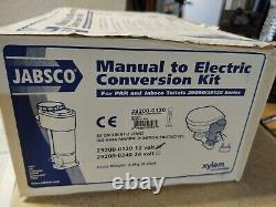 JABSCO 29200-01200 Manual to Electric Marine Toilet Conversion Kit