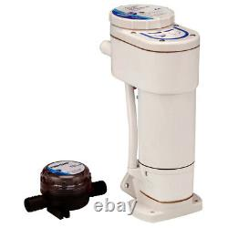 Jabsco Boat Marine RV 12V Manual to Electric Toilet Conversion Kit 29200-0120