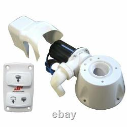 Johnson Pump AquaT Manual Electric Toilet Conversion Kit 12V Converter Adapter