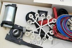 Manual to electric windows conversion kit set motors switches classic car