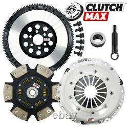 STAGE 3 CLUTCH SOLID FLYWHEEL CONVERSION KIT for 97-05 AUDI A4 B5 B6 1.8L TURBO