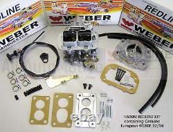 Suzuki Samurai Weber Carb Conversion Kit Manual Choke with Air Filter Adapter