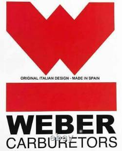 Suzuki Samurai Weber Carburetor Conversion Kit Manual Choke withGenuine Weber