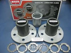 WARN 29070 4WD Manual Locking Hubs Kit Conversion Socket Ranger Bronco II 83-90