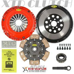 Xtd Stage 3 Clutch + Lt Flywheel Conversion Kit Jetta Golf Tt 1.8t 1.9l Tdi